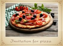 Free eCards, Free invitations ecards - Invitation for Pizza,