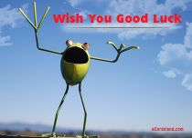 Free eCards, Animals cards messages - Wish You Good Luck,
