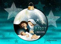 eCards Christmas Holy Family, Holy Family