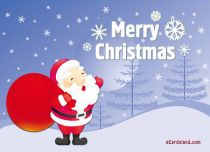 eCards  Lucky Santa Claus,