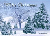 eCards  White Christmas,