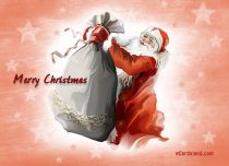 Free eCards - Christmas gifts bag,