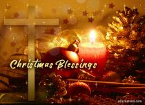 Free eCards Christmas - Christmas Blessings,