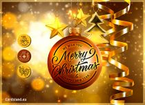 Free eCards, Merry Christmas e-cards - Christmas bubble,