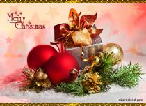 Free eCards Christmas - Christmas Decoration,