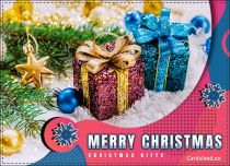 Free eCards - Christmas gifts!,