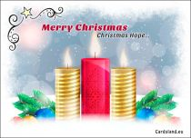 Free eCards, Christmas greeting cards - Christmas Hope,