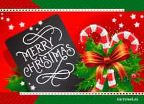 Free eCards, Merry Christmas e-cards - Christmas Sweets,