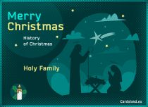 eCards  History of Christmas,
