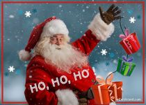 Free eCards, Merry Christmas e-cards - Ho Ho Ho,