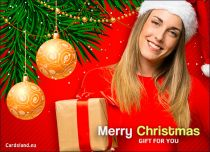 Free eCards, Merry Christmas e-cards - Lovely Santa Claus,