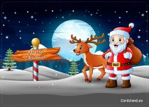 Free eCards, Free ecards with music - Merry Christmas,