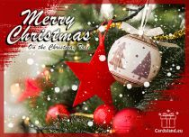 Free eCards, Free Santa Claus cards - On the Christmas Tree,