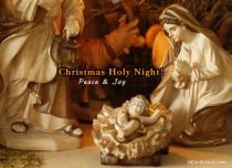 eCards Christmas Peace & Joy, Peace & Joy