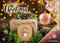 Free eCards, Merry Christmas e-cards - Sensational Gift for You,