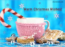 Free eCards, e-Cards - Warm Christmas Wishes!,