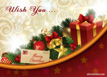 Free eCards Christmas - Wish You ...,