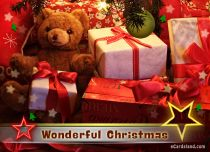 Free eCards, Christmas cards free - Wonderful Christmas,