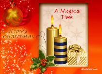 eCards Christmas A Magical Time, A Magical Time