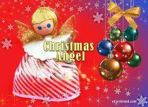 Free eCards - Christmas Angel,