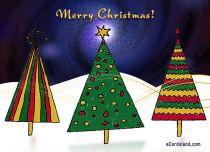Free eCards - Christmas Trees,