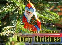 eCards - Decorate The Christmas Tree,