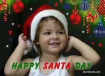eCards Christmas Happy Santa Day, Happy Santa Day