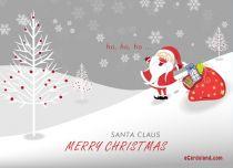 eCards  Santa Claus,