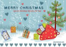 Free eCards - Special Christmas Delivery for You,