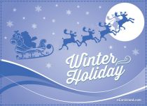 Free eCards - Winter Holiday,