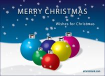 eCards  Wishes for Christmas,