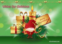 Free eCards - Wishes for Christmas,
