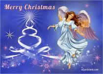 eCards Christmas Angel, Angel