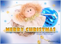 eCards Christmas Angel Holidays, Angel Holidays
