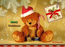 eCards  Christmas Bear,