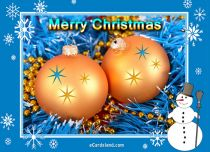 Free eCards - Christmas Snowman,