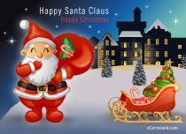 eCards Christmas Happy Santa Claus, Happy Santa Claus