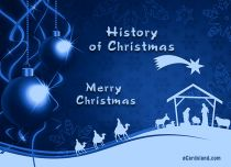 Free eCards - History of Christmas,