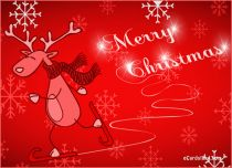 eCards Christmas Joyful_Reindeer, Joyful_Reindeer