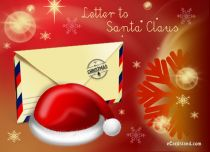 Free eCards - Letter to Santa Claus,
