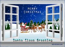 eCards  Santa Claus Greeting,