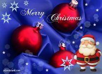 Free eCards - Santa Claus Greeting,