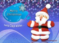 eCards  Santa Claus Wishes,