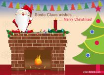 eCards Christmas Santa Claus Wishes, Santa Claus Wishes