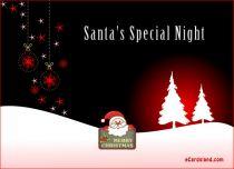 Free eCards - Santa's Special Night,