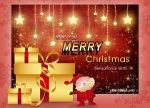 eCards Christmas Sensational Gift, Sensational Gift