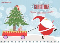 Free eCards - Special Christmas Delivery,