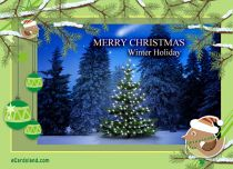 eCards Christmas Winter Holiday, Winter Holiday