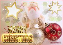 eCards  Card with Santa Claus,