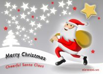 Free eCards - Cheerful Santa Claus,